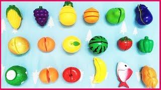 Đồ chơi cắt trái cây, rau củ, hoa quả, thịt cá nhiều món (Chim Xinh)