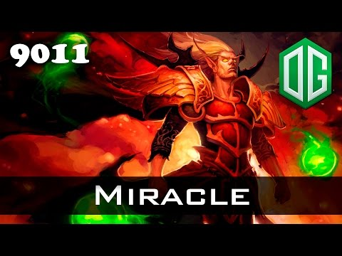 Miracle Invoker - 9011 MMR Ranked Dota 2