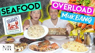 KAPITAN GIMMO MUKBANG Q&A ( 3rd Baby, Love Advice, REF TOUR Issue, Youtuber Drama )| Nina Rayos 💋