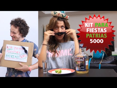 Kit para FIESTAS PATRIAS 5000
