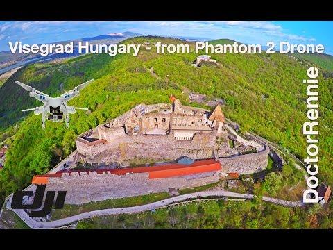 Visegrad (Castle) Hungary  by Drone Travel (Visegrád a levegőből)