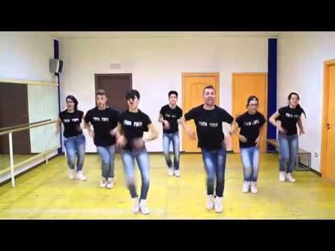 Joey&Rina ' Toca Toca '    Impara i Passi    Balli di Gruppo 2014 Line Dance