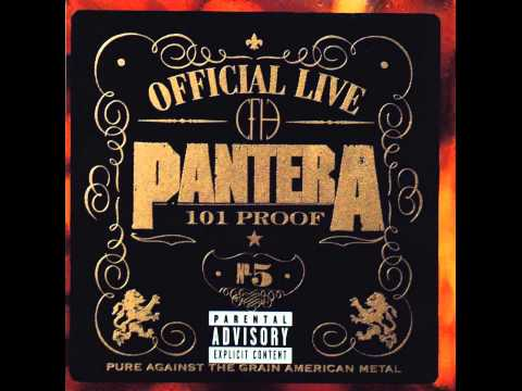 Pantera - Official Live101 Proof