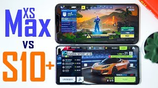 Galaxy S10+ vs XS Max - Gaming Performance Comparison