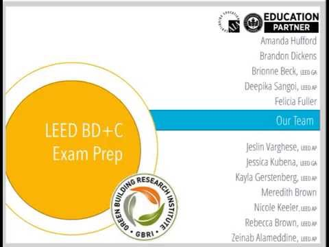 GBRI Road Map for LEED AP Exam Prep under V4