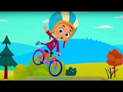 Четверо в кубе - Кубо велосипед - серия 7 - новый российский мультфильм для детей