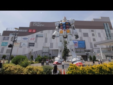 Odaiba videowalk