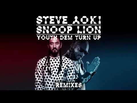 Steve Aoki - Youth Dem (Turn Up) feat. Snoop Lion (Steve Aoki x Garmiani Remix) [Cover Art]