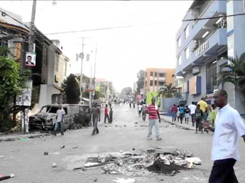 Violence flares in Haiti post-election