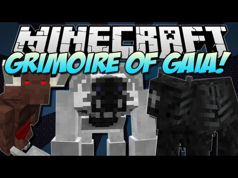 Minecraft   GRIMOIRE OF GAIA! (Epic RPG Mod!)   Mod Showcase [1.5.1]