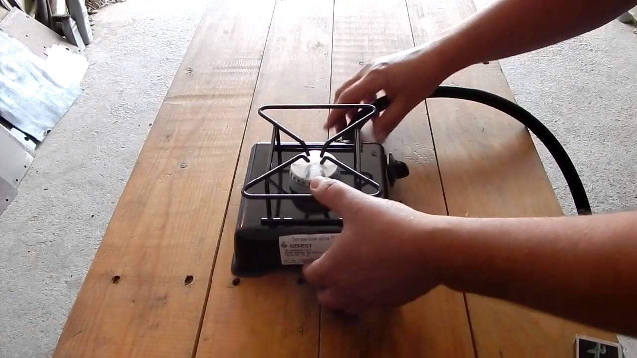 Газовая плита портативная своими руками 12