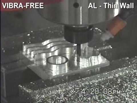 VIBRA-FREE High Speed Aluminum Machining