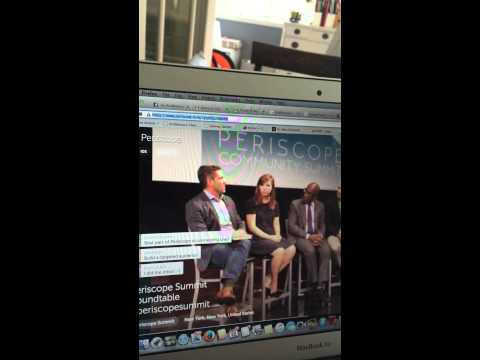 Observing Periscope Community Summit in NYC