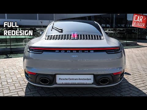INSIDE The NEW Porsche 911 992 Carrera 4S 2019 | Interior Exterior DETAILS W/ REVS