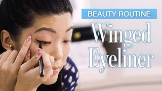Beauty Expert's Winged Eyeliner Tutorial In Real Time (3 Looks) | Allure