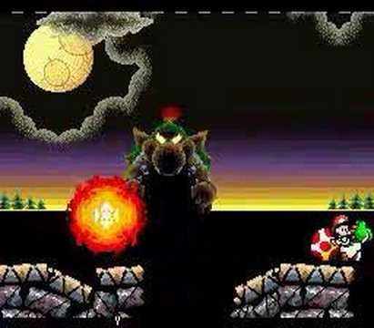 Yoshi's Island Final Boss