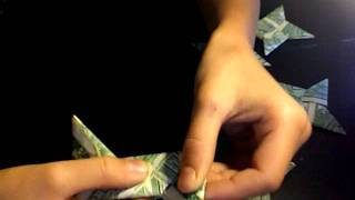 How To Make A Origami Ninja Star Out Of Money