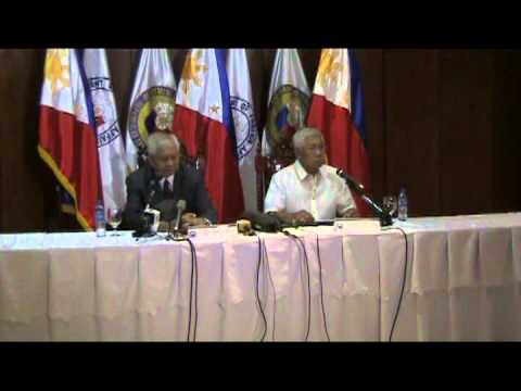 SEC VOLTAIRE GAZMIN AND SEC ALBERTO DEL ROSARIO ANNOUNCED THE US PHIL FRAMEWORK AGREEMENT
