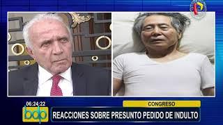 Reacciones políticas tras posible indulto a Alberto Fujimori