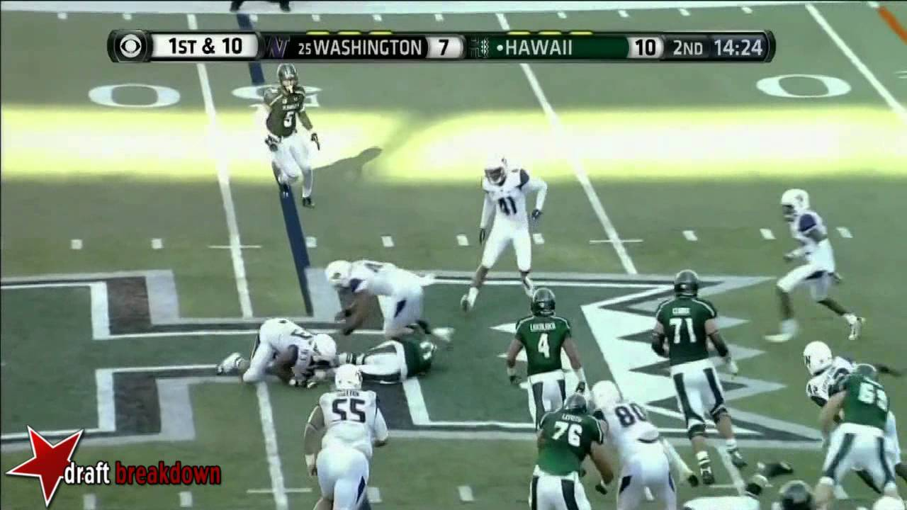 Danny Shelton vs Hawaii (2014)