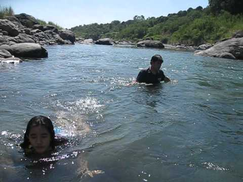 Bagani.swimming video