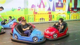 Dapat Teman Baru Saat Mencoba Banyak Permainan Dunia Anak  di Trans Studio Bandung