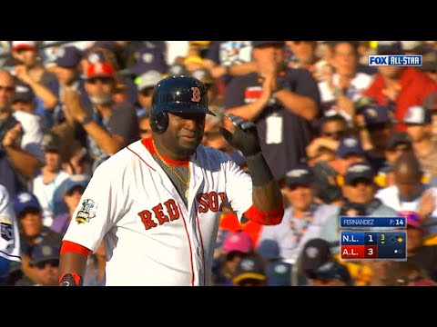 David Ortiz exits All-Star Game to standing ovation