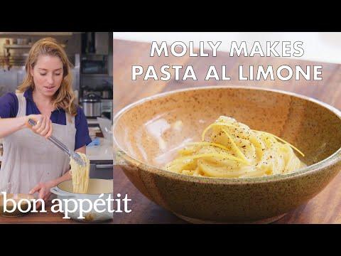 Molly Makes Pasta al Limone | From the Test Kitchen | Bon Appétit