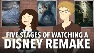 Five Stages of Watching a Disney Remake by : How It Should Have Ended