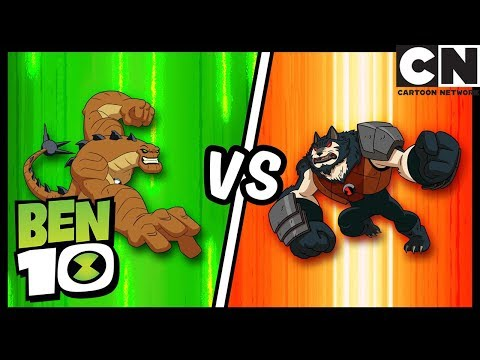 Ben 10 | Ben vs Kevin 11 Best Battles | Cartoon Network