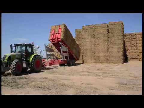 DP Videocaim : Landbouwmachines Hooibaal magazijntrekker
