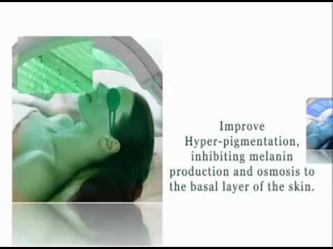 Raja Medical - Oxylight with LED Light Therapy Demonstration