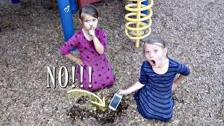 LOST My Mom's iPhone at A PARK!!