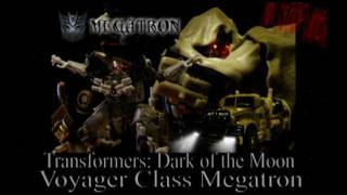 Transformers: Dark of the Moon Voyager Megatron in Stop Motion
