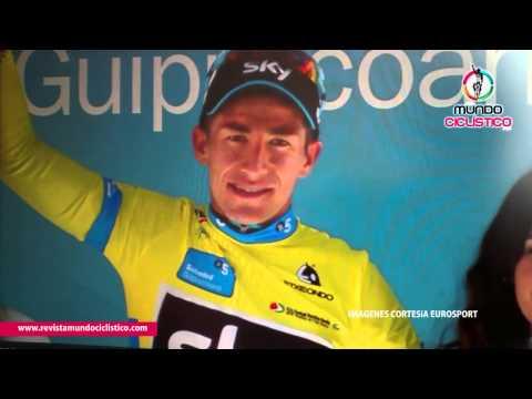 Revista Mundo Ciclistico: Sergio Luis henao (Team SKy) Lider Vuelta Pais Vasco