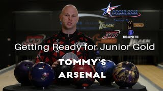How Tommy Jones Builds His Bowling Ball Arsenal