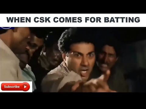 CSK The Champions Story On Bollywood Style - Bollywood Song Vine [ Benny Montez ]