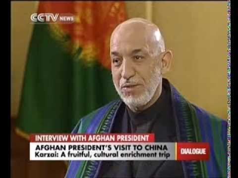 Interview with Afghan President Hamid Karzai
