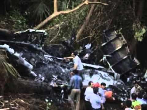 Fotos Avion Accidente Aéreo - YouTube