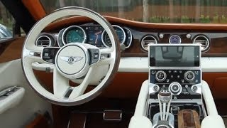 2016 BENTLEY SUV INTERIOR INSPIRATION Bentley EXP 9 SUV Video CARJAM TV 2014