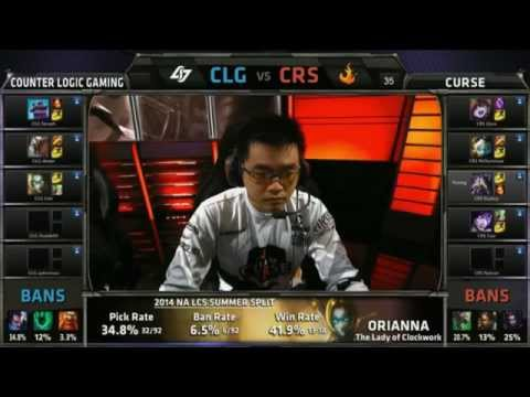 Orianna + Rengar vs Tristana mid Voyboy - CLG vs CRS - LCS NA W10D1