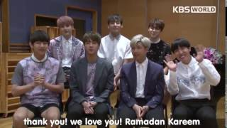 Ramadhan Kareem from BTS to muslim's in The World