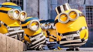 "DESPICABLE ME 3 ""Minions In Prison"" Movie Clip + Trailer (2017)"