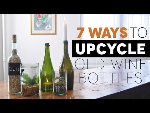 25 cool things to do with wine bottles how to save money for Cool things to do with a wine bottle