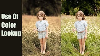 Photoshop Tutorial : Color Lookup Photo effects | Creative Color with Color Lookup Photoshop