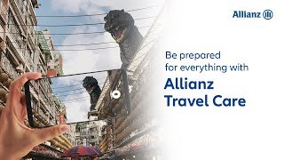 Be Prepared for Giant Monsters | Allianz Travel Care