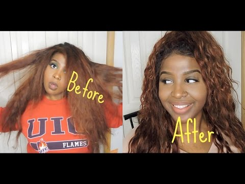 HOW TO REVIVE YOUR OLD. DRY. AND BRITTLE WEAVE  SILICONE MIX REVIEW