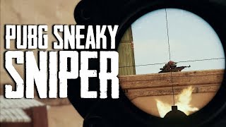 Sneaky Sniper in PUBG (Playerunknown's Battlegrounds)