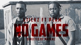 (150) Stickz Ft. Perm | No Games (Music Video) @StizzyStickz @Permct | @HBVTV