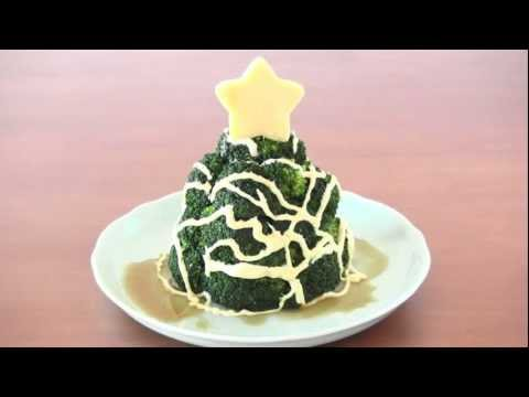 How to Make Christmas Broccoli Tree (Recipe)